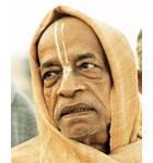 Srila Prabhupada on Morning Walk Closeup