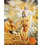 Krishna Reveals His Four-Armed Form