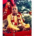 Srila Prabhupada at New Vrindaban, On Red Vyasasana