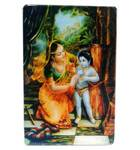 Acrylic Stand -- Damodar Krishna Being Bound by Ropes  (large size)
