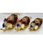 "Golden Elephant Set of 3 -- 3"""