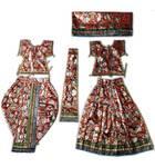 Radha Krishna Dress Multi Printed (R1400)