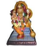 "Prahlada Maharaja and Lord Nrsimhadeva Polyresin Figure (5"" high)"