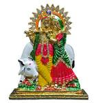 Radha Krishna with Cow Stand