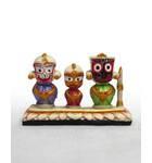 Jagannatha, Baladeva and Subhadra Deities, Small Size