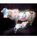Big Kamadhenu Cow with Calf
