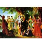 Radha and Krishna with Gopis (Pack of 10)