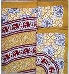 Bed Cover and Pillow Cases, Double Bed -- Many Designs
