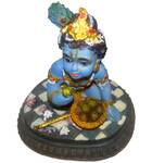 "Laddu Gopal Polyresin Deity (3"" high)"