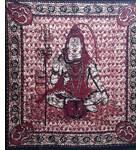 Lord Shiva Backdrop Cotton Print (220x210 cm)