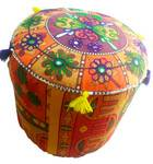 Sitting Stool in Rajhastani Cloth