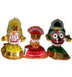 Clothes for Jagannatha, Baladeva and Subhadra Deities